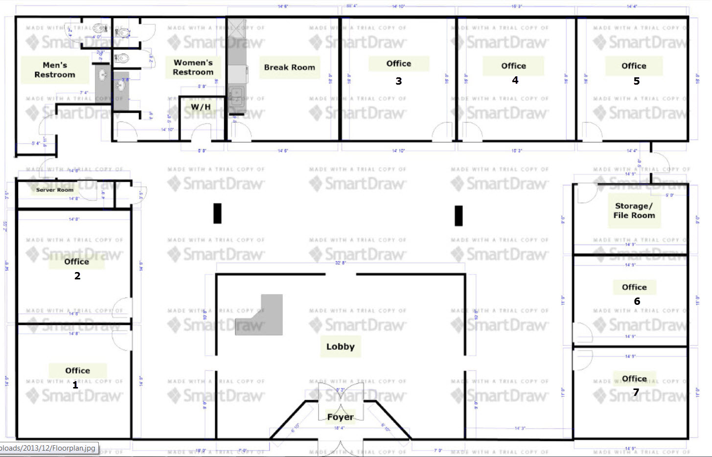 25 best ideas about office plan on pinterest open office Office building floor plan layout